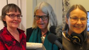 Åsa Kjellman Erici, Ulrika Knutsson, Monica Gustafsson
